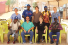 The International Outreach badge recognized students for coursework examining public health disparities and participation in a two-week mission trip to Senegal. Students performed nearly 1,600 procedures to help treat more than 400 patients.