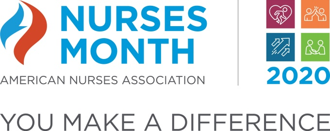 Nurses month logo.