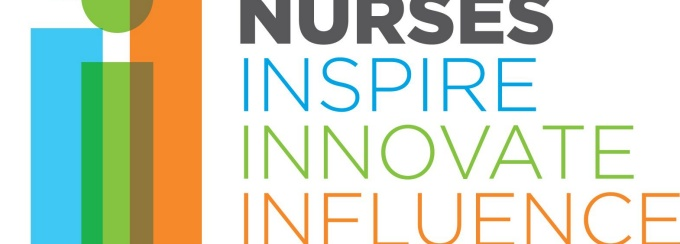Nurses inspire, influence, innovate logo.