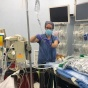 nurse in operating room.